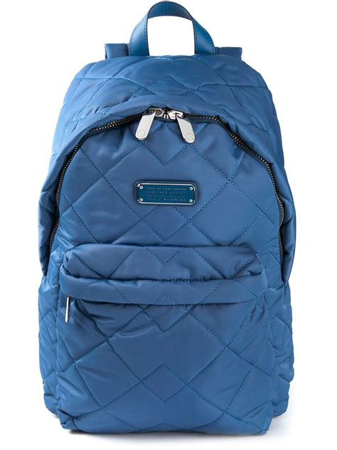 Quilted Backpacks For by Marc By Marc Crosby Quilted Backpack In Blue Lyst
