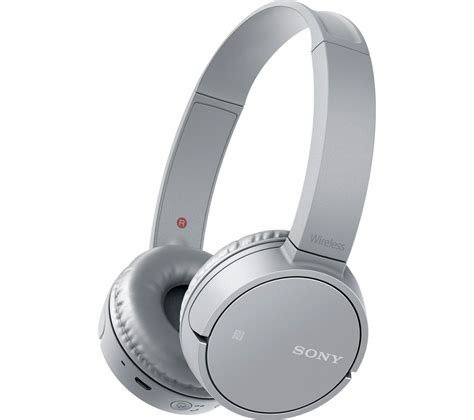 buy sony mdr zx220bth wireless bluetooth headphones silver free delivery currys