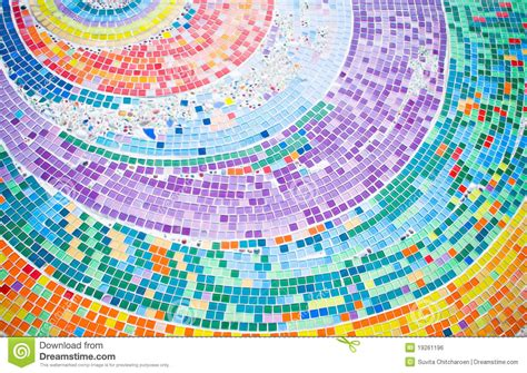 11 X 11 Kitchen Floor Plans Colorful Mosaic Background Circle Royalty Free Stock Image