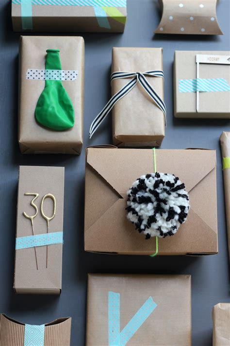gift wrapping ideas for him thirty in a box is my fave you are my fave
