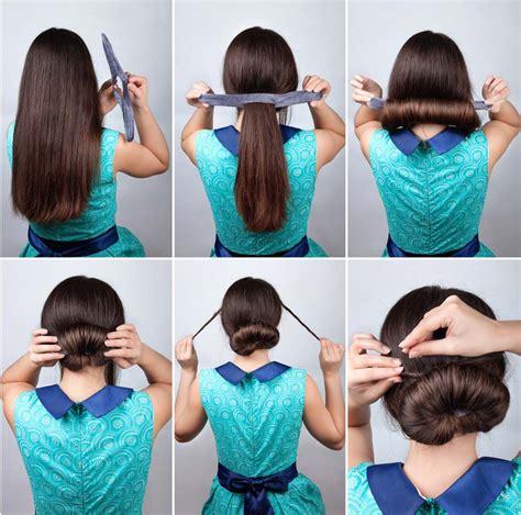 Peinados Recogidos Paso A Paso Faciles
