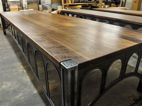 Walnut 42 Desks   Vintage Industrial Furniture