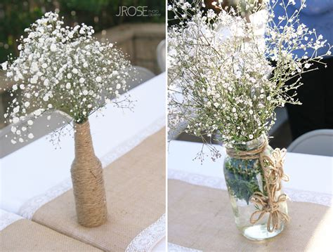 rustic baby shower centerpieces rustic themed baby shower j photography