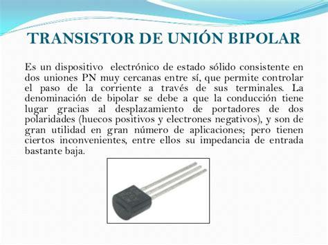 transistor bipolar y fet transistor bipolar union 28 images transistores transistor bjt y fet uni el transistor de