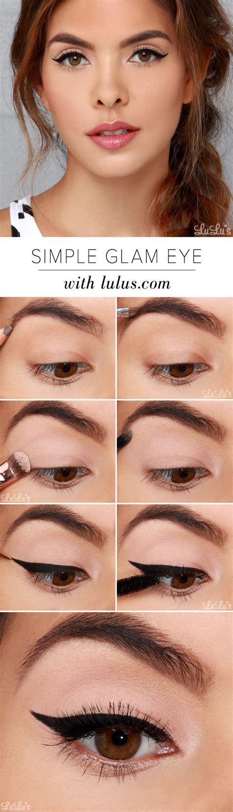 tutorial makeup lulu lulu s how to simple glam eye makeup tutorial lulus com