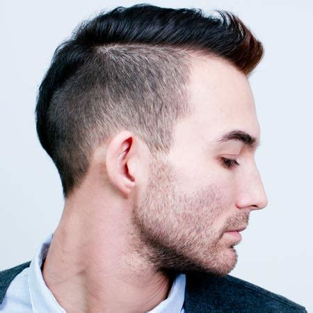 combover short sides men s comb over haircut and hairstyles