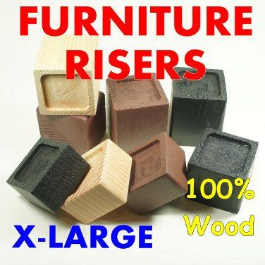 sofa leg lifters 1000 ideas about bed risers on pinterest adjustable