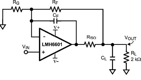 op capacitor feedback loop compensation techniques for driving large capacitance loads with high speed lifiers ee times