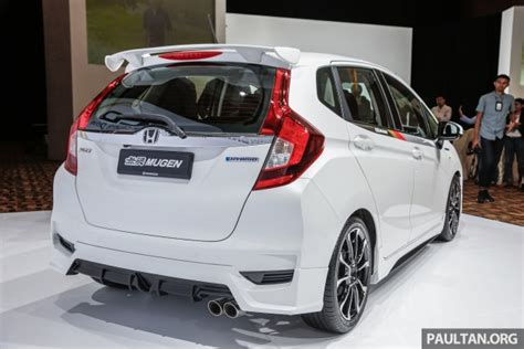 Spoiler Jazzrs 20102013 Ready 2017 honda jazz facelift mugen prototype with bodykit accessories makes debut in malaysia