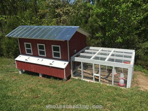 Handmade Chicken Coop - chicken coop wholesteading