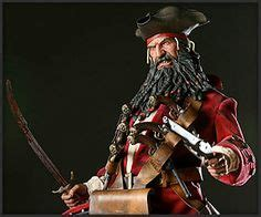 Blackbeard Coat Of Arms on pirate flags and