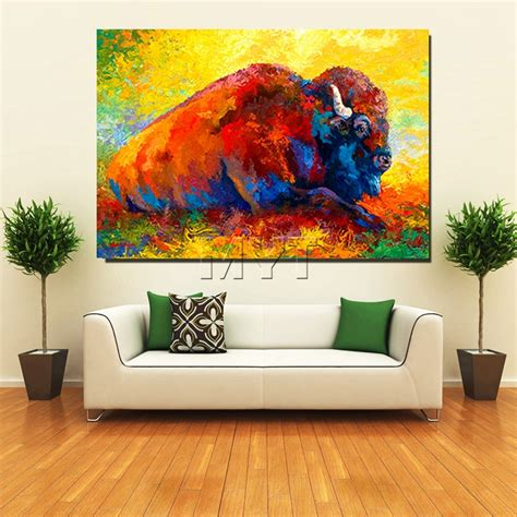 drop shipping home decor wholesale retail drop shipping western cow oil paintings