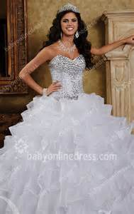 Wedding Program Size 2015 Sequins Wedding Dresses Sweetheart Sleeveless Crystal Organza Ball Gown Floor Length Lace