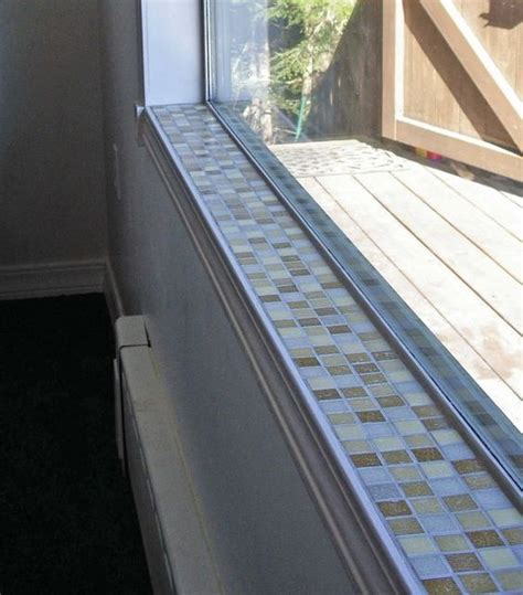 sohlbank fenster glass tile window sill mosaic tile window sill 1 by