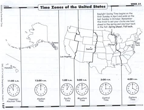 us map time zones black and white wednesday april 24 2013