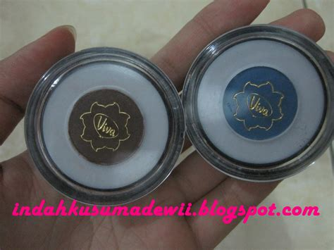 Eyeshadow Wardah Basah indah kusuma dewi viva eye shadow