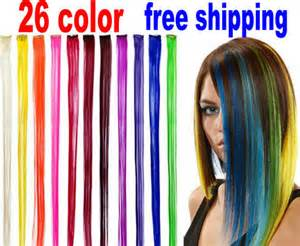colored hair extensions clip in clip in remy human hair picture more detailed picture