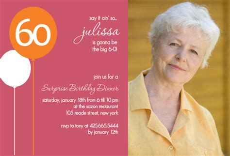 60th birthday invitation templates invitation templates for 60th birthday http