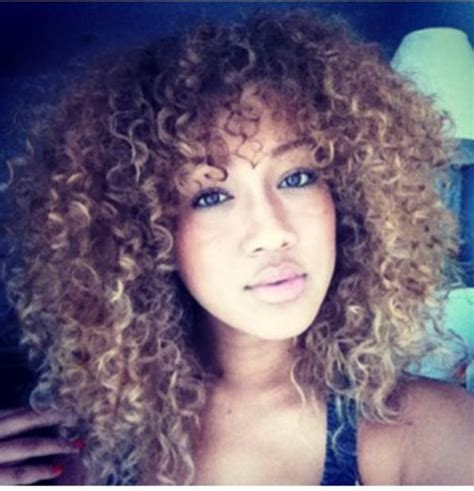 curly hair chinese bang black women natural curly hair show me them curls pinterest
