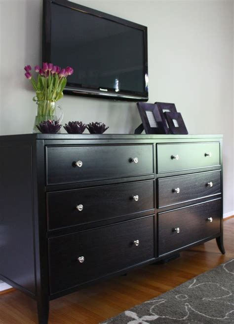 black bedroom chest dressers astounding black bedroom dresser black 6 drawer