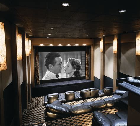 best home theater with stage contemporary home theater
