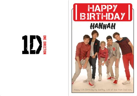printable birthday cards one direction one direction birthday card by hannahloulou on deviantart