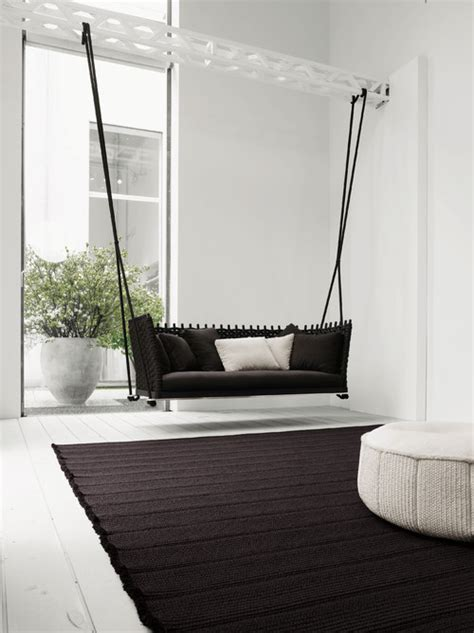 Indoor Sofa Swing 9 indoor swings that won t remind you of at all photos huffpost