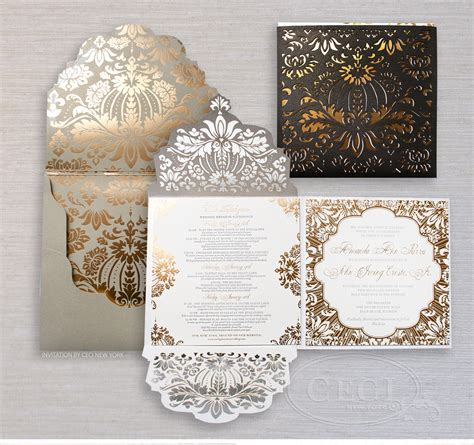 Luxury Wedding Invitations by Luxury Wedding Invitations By Ceci New York Our Muse