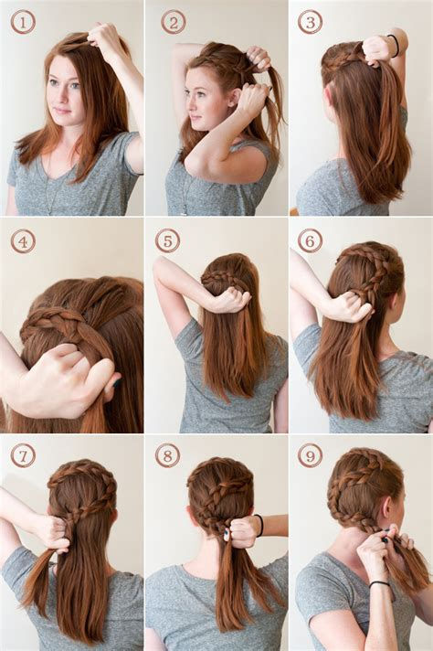 how to i french plait my own side hair how to french braid your own bangs the easy way