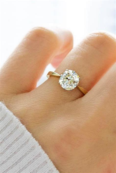 simple engagement rings 11 girlyard