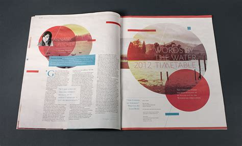 editorial design page layout gary nicholson mistd graphic design watermark words