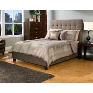 Tufted Platform Bed Manhattan Tufted Upholstered Storage Platform Bed At Hayneedle