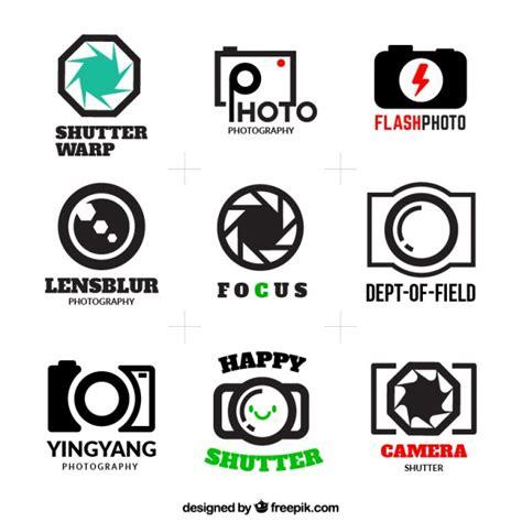 design studio logo vector templates photography logos pack vector free download