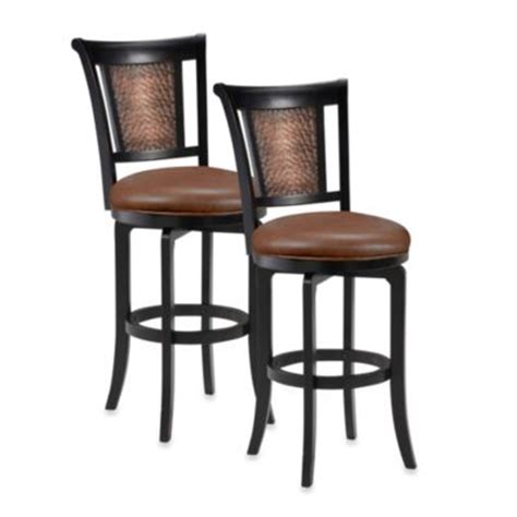 bed bath and beyond stools buy black swivel counter stool from bed bath beyond