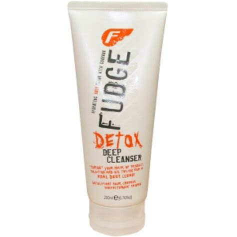 Fudge Detox Shoo by Fudge Detox Cleanser 200ml Free Shipping