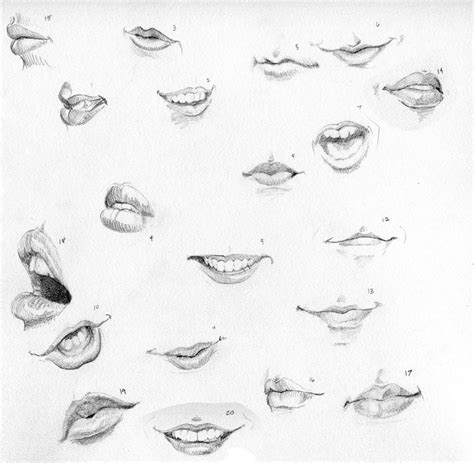 Drawing Mouths by Ctrl Paint Draw 20 By Dissonata On Deviantart