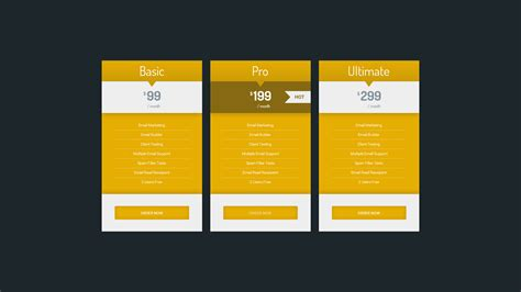cp multipurpose html pricing table 80 unique design by
