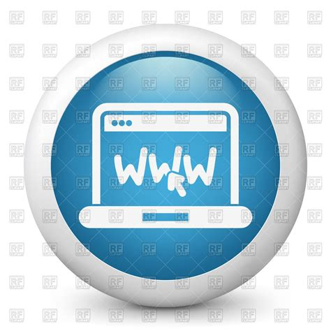 free web page clipart www icon webpage royalty free vector clip