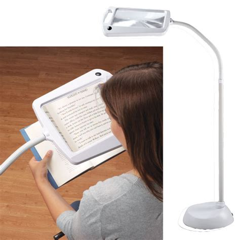 full page magnifier with light lighted full page magnifier l walter drake