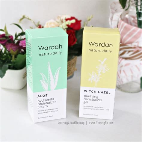 Harga Wardah Nature Daily Witch Hazel review wardah nature daily mosturizer aloe vera witch