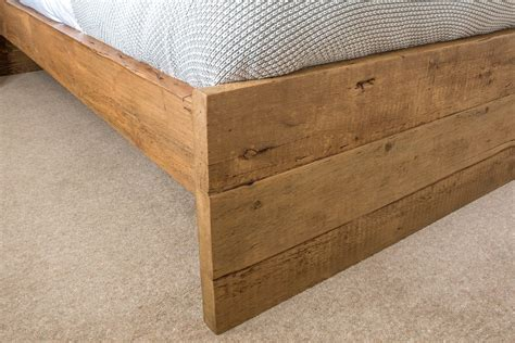 reclaimed wood vs new wood branson bed eat sleep live