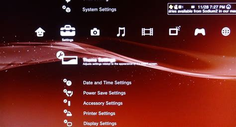 reset playstation 3 video resolution playstation 3 how to install ps3 themes from a usb