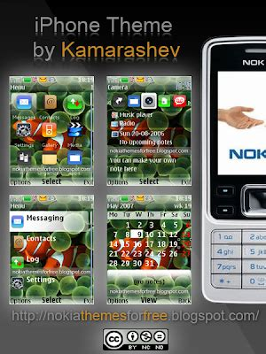 themes editor for nokia kamarashev s free nokia themes free iphone theme for
