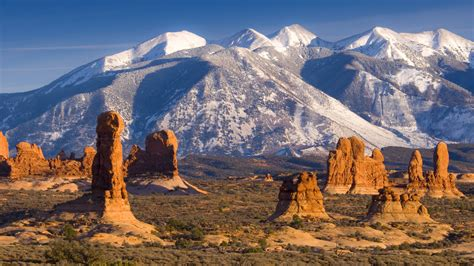 Interior Design Mountain Homes la sal mountains arches national park utah widescreen