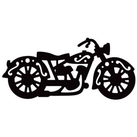 motorcycle stencils templates die versions vintage motorcycle die from hixxysoft