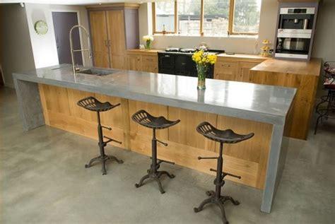 cocinas de cemento  ideas  imagenes decoraideas