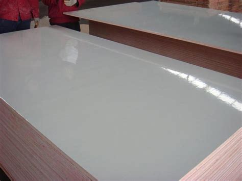 E2 grade white color glossy or matt formica fire proof plywood HPL plywood purchasing, souring