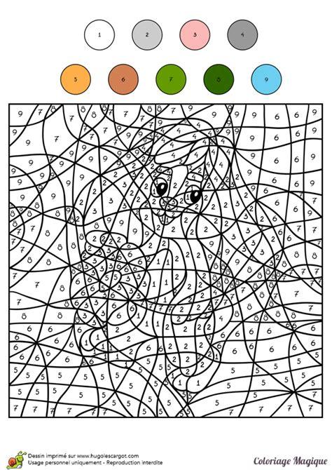 Coloriage204 Hugo L Escargot Coloriage Magique Coloriage Magique Poisson Maternelle L