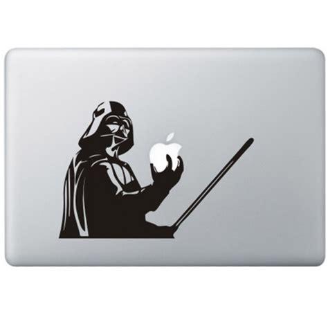 Decal Sticker Macbook Apple Macbook Logo Sepeda Stiker Laptop Unik darth vader wars macbook decal kongdecals macbook