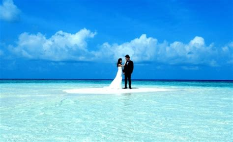 Hochzeit Malediven by Dreamy Maldives Wedding On The Sandbank